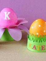 Подставка для яиц своими руками