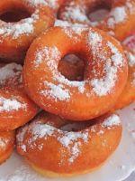 Дрожжевые пончики – рецепт