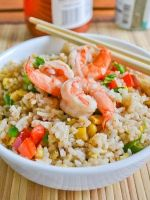 Рис с креветками – рецепт