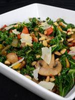 Салат с грибами и орехами