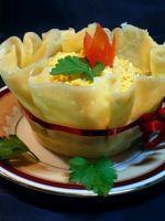 Салаты с чесноком - рецепты