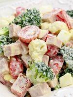 Салаты с колбасой – рецепты