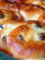Сдобные булочки – рецепт