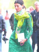Сочетание цветов в одежде – зеленый