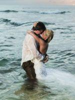 Свадебная фотосессия на пляже