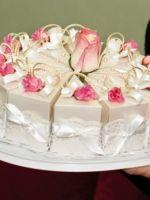Торт из картона с пожеланиями