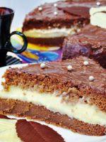 Торт с заварным кремом