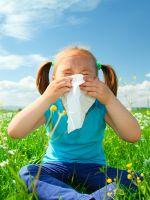 У ребенка аллергия на цветение