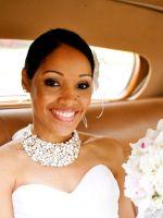 Украшение для невесты на шею