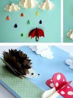 Весенние поделки для детского сада