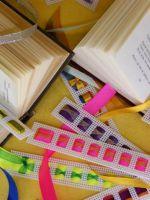 Закладки для книг из ленточек