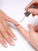 Закрепитель лака для ногтей