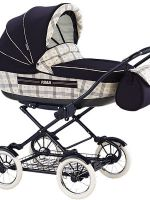 Зимняя коляска для новорожденных