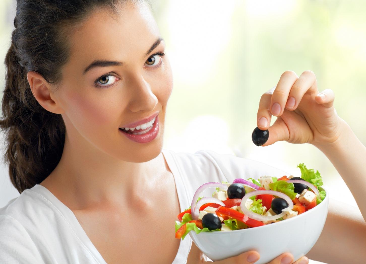 Рациональное питание для похудения меню на неделю для женщин