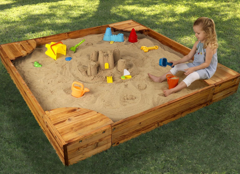 Как обустроить детскую песочницу своими руками 75