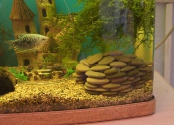 Декорацию для аквариума своими руками