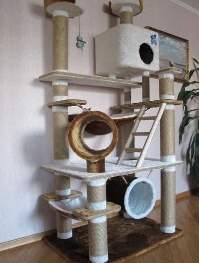 Домик для кошек своими руками эскизы фото 516