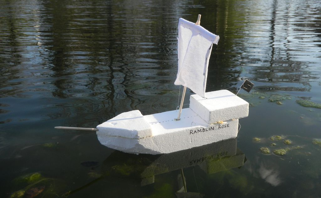 поделка лодка своими руками фото