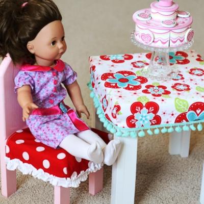 Мебель в кукольном домике своими руками