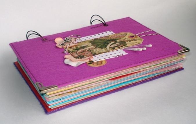 Как сделать своими руками дневник для девочек