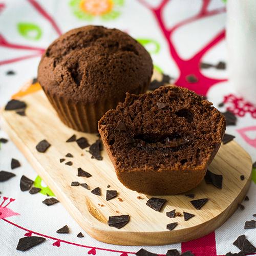 Шоколадные маффины рецепты с начинкой