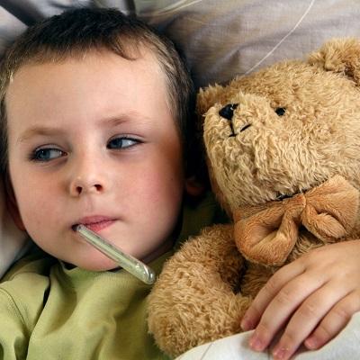 У ребенка температура ночью