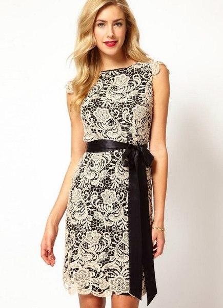 Модные габардиновые платья