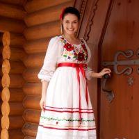 Современные платья в украинском стиле картинки