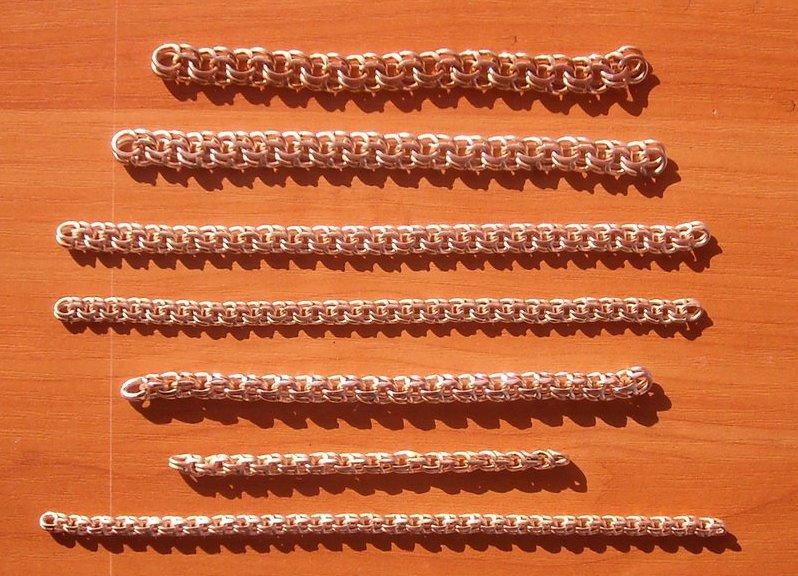 какие виды золотых цепочек