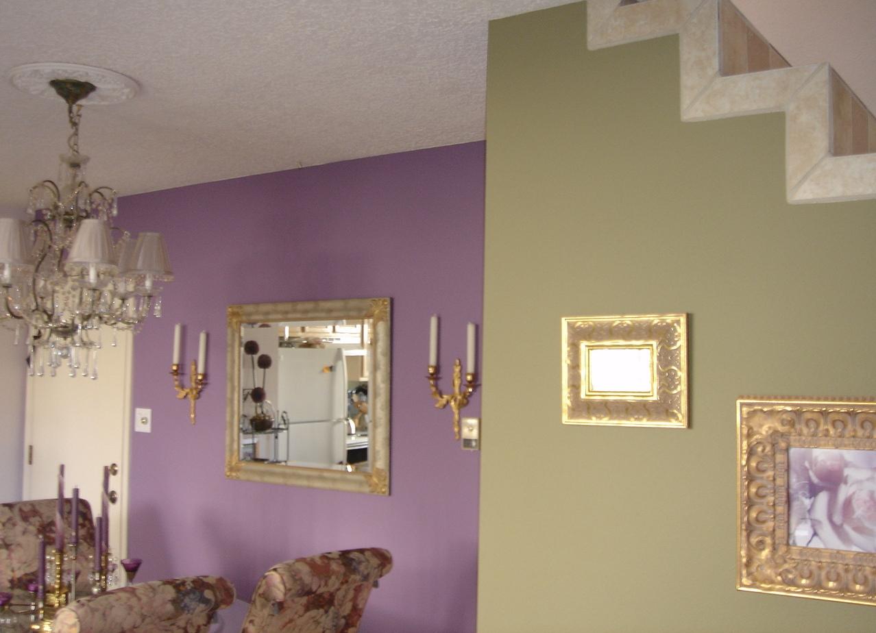 Сочетание цвета при покраске стен