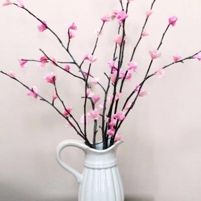 Как своими руками сделать ветку с цветами