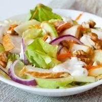 Салаты с копченой курицей – рецепты