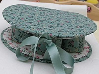 Сделать шкатулку для рукоделия из ткани своими руками фото 520