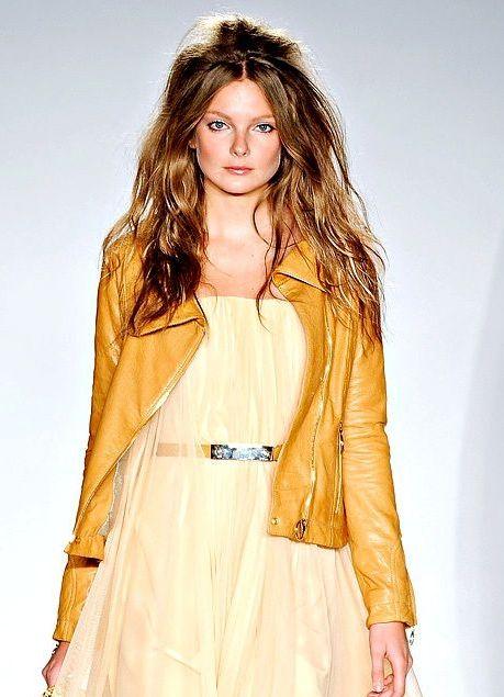 Женские кожаные куртки 2013