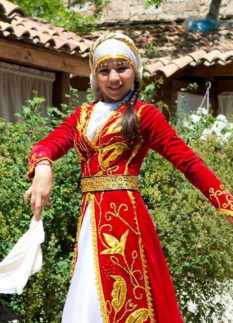 Татарский костюм женский
