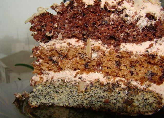 торт каприз рецепт с фото