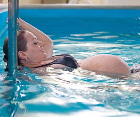 Школа для беременных с бассейном 73