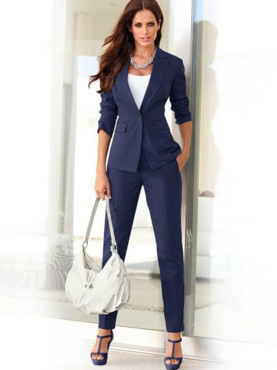 Женские брюки зауженные классические