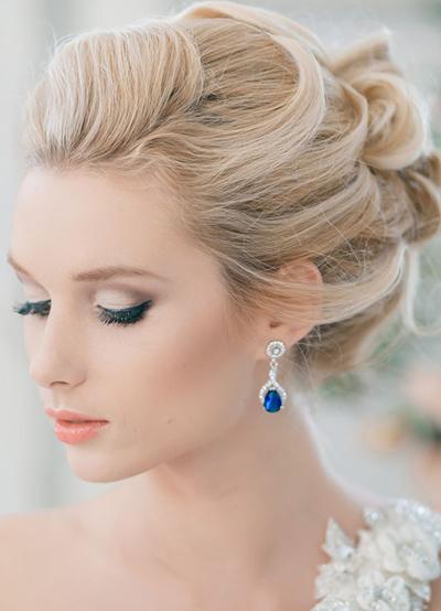 Макияж на свадьбу для блондинок 3