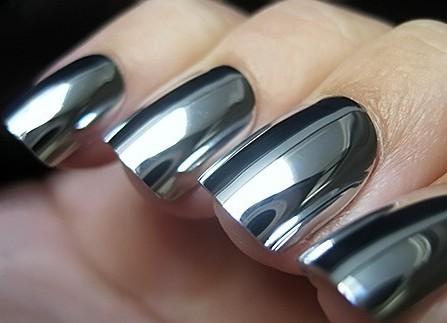Как сделать зеркальный лак для ногтей