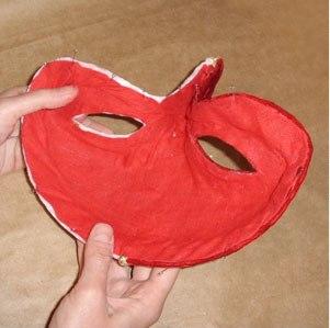маска из папье маше 25