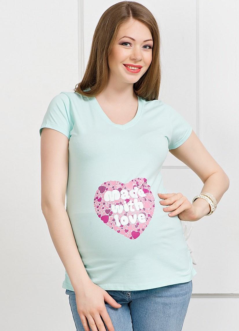 Майки с надписями для беременных - photo#3