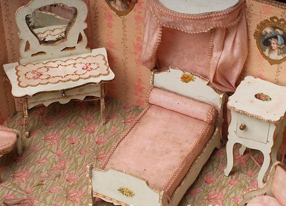 Как делать мебель для кукол картинки