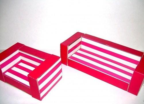 Как сделать кроватку из картона