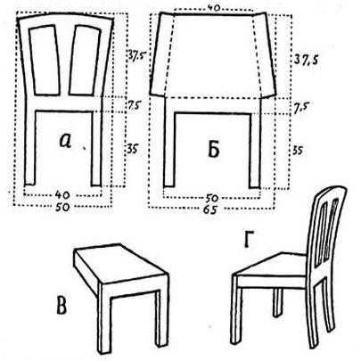 Мебель из картона для кукол своими руками фото