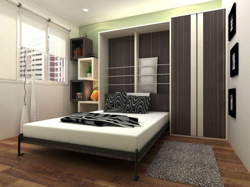 Шкафы-кровати тренд и экономия пространства