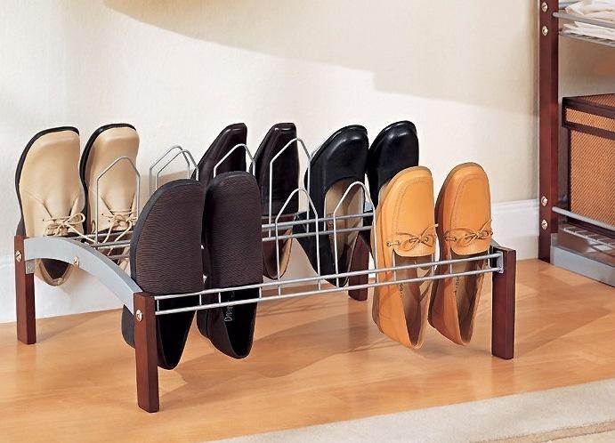 Полочка для обуви из металла своими руками