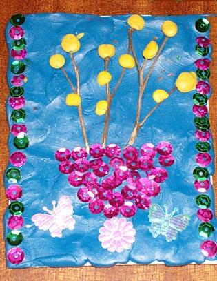 Объёмная аппликация из бумаги своими руками цветы фото 251