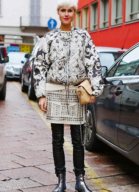 Мода для девушек осень 2013