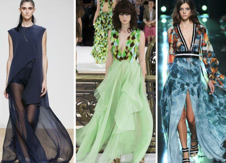 Красивые модные платья 2015, фото